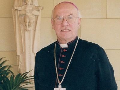 Tributes paid after death of bishop who served Motherwell for 30 years