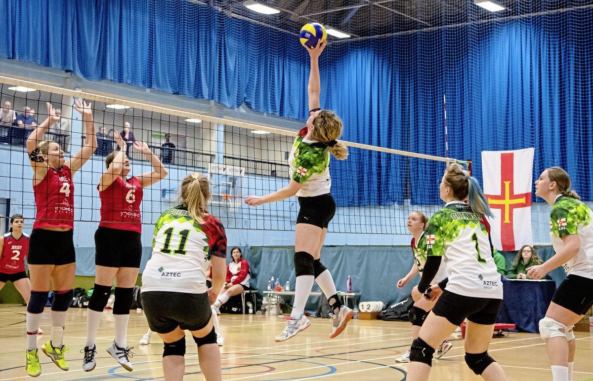 Spiked: Volleyball's inter-insular with a significant difference – against Isle of Man instead of Jersey – will now not go ahead next weekend.(Picture by Andrew Le Poidevin, 28833166)