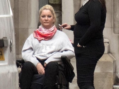 Ex-lover of woman paralysed in bed fall 'laughed before realising she was hurt'