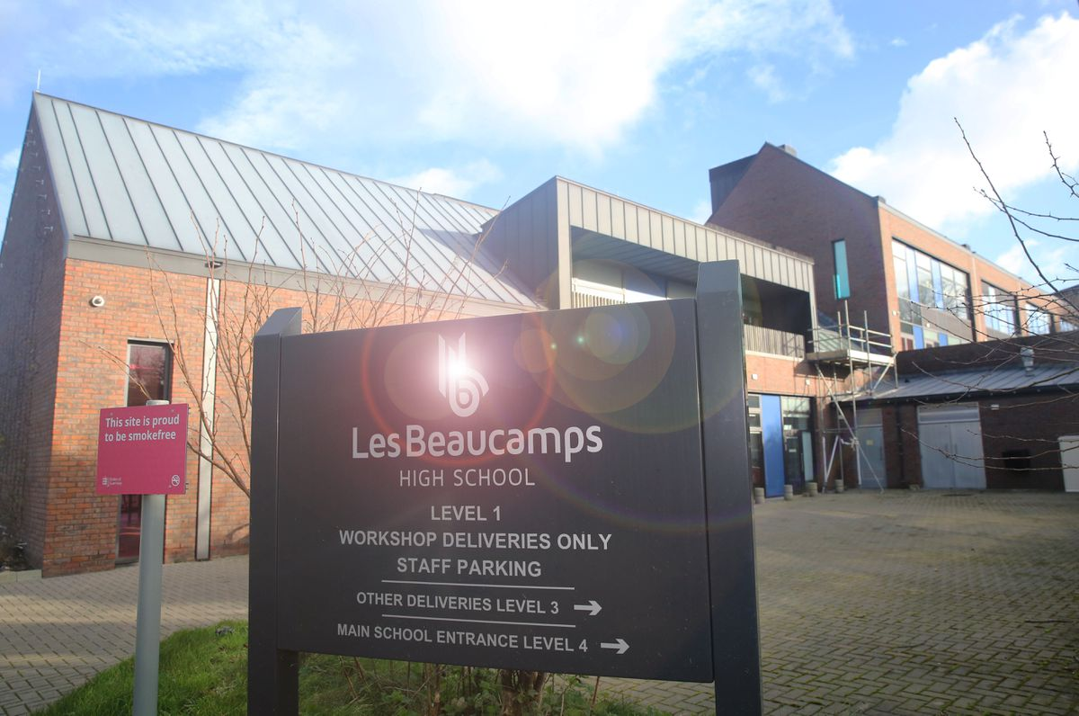 Pic by Adrian Miller 27-12-17 Les Beaucamps High. (26801194)