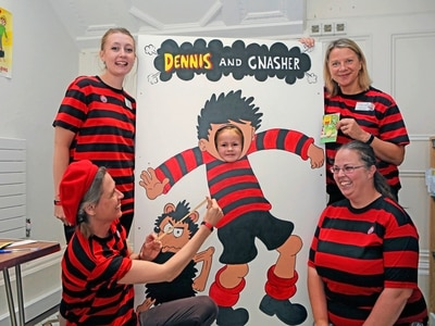 The Beano backs the reading challenge