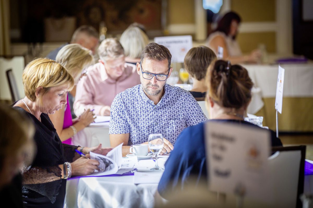 Picture by Sophie Rabey.  18-09-20.  Judging for Pride of Guernsey 2020 Awards with Guernsey Press Representatives and Sponsors at OGH.  CANDID GENERIC PICS.. (28705247)