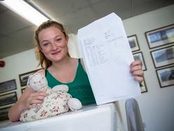 Grammar head prefect thanks 'lucky bunny'