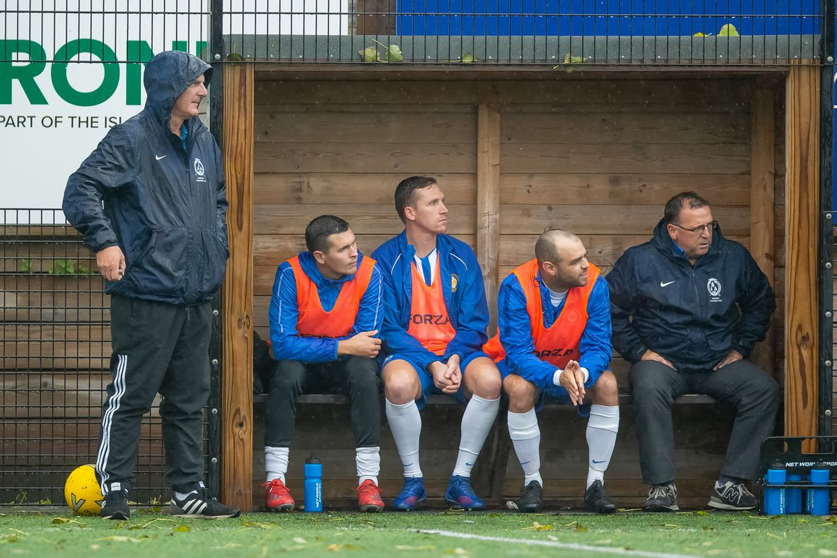 Alfie Le Page, right, is stepping down as Bels first-team coach. (Picture by Martin Gray, 29583096)