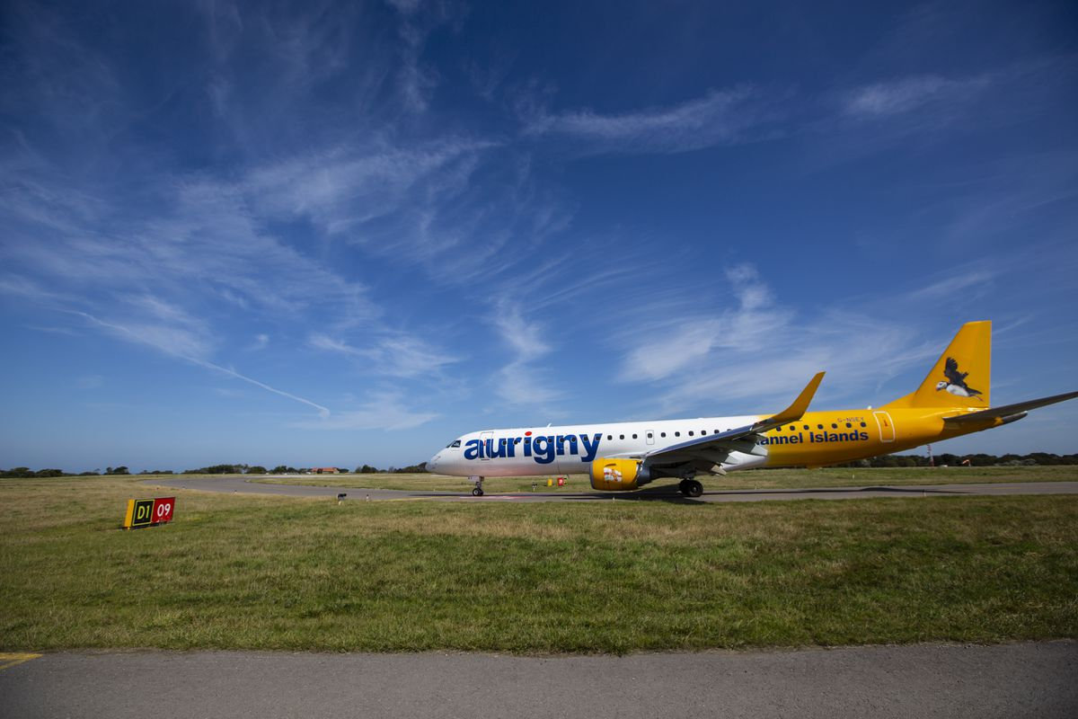 Aurigny's jet aircraft (Picture by Peter Frankland, 29635079)