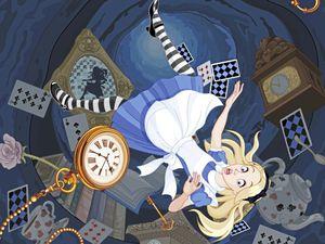 Alice in Wonderland illustration. (Pushkin/Shutterstock) (29902407)