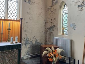 Church's 'scab-like' mould problem putting worshipers off