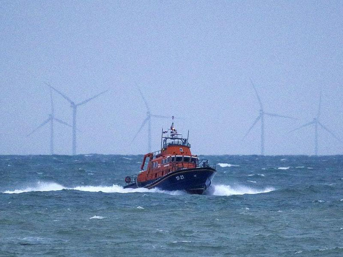 Search to resume for two crew after fishing boat sinks off coast of East Sussex