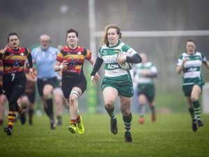 Picture by Sophie Rabey.  23-02-20.  Rugby at Footes Lane - Guernsey Raiders Ladies vs Ashford Ladies.. (27255891)