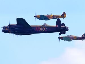 The Battle of Britain Memorial Flight will not be part of today's air display due to the weather. (29968769)