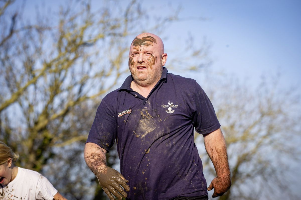 Picture by Sophie Rabey.  29-11-20. Muddy Cow Fun Run Vazon/Grande Mare. (28963022)