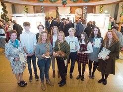 St James packed for art awards