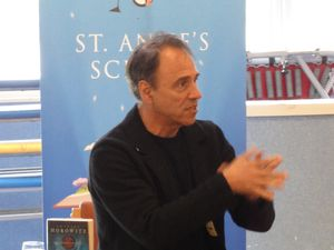 Anthony Horowitz in the Bailiwick in Mark 2019. (Picture by Emma Pinch, 29205152)