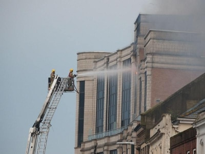 Firefighters tackling blaze in Bournemouth high rise