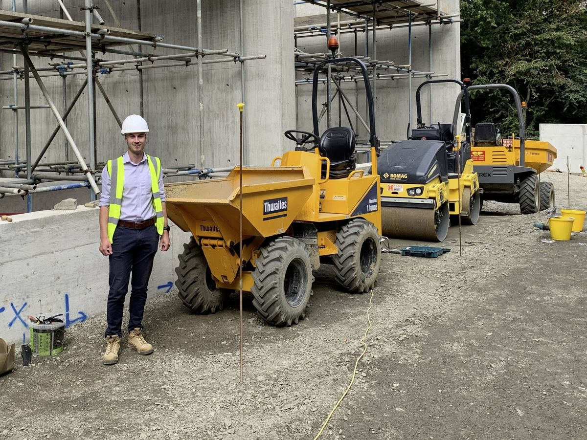 HLG Associates has launched a student bursary. Pictured is Jack Le Tissier who has been awarded the £1,500 annual bursary. (30053159)