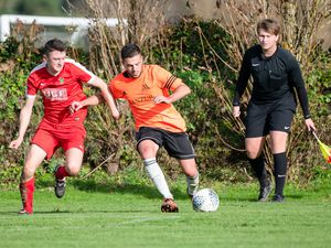 Pic supplied by Andrew Le Poidevin: 19-10-2019...Sylvans v Manzur football at St Peters.. (28903610)