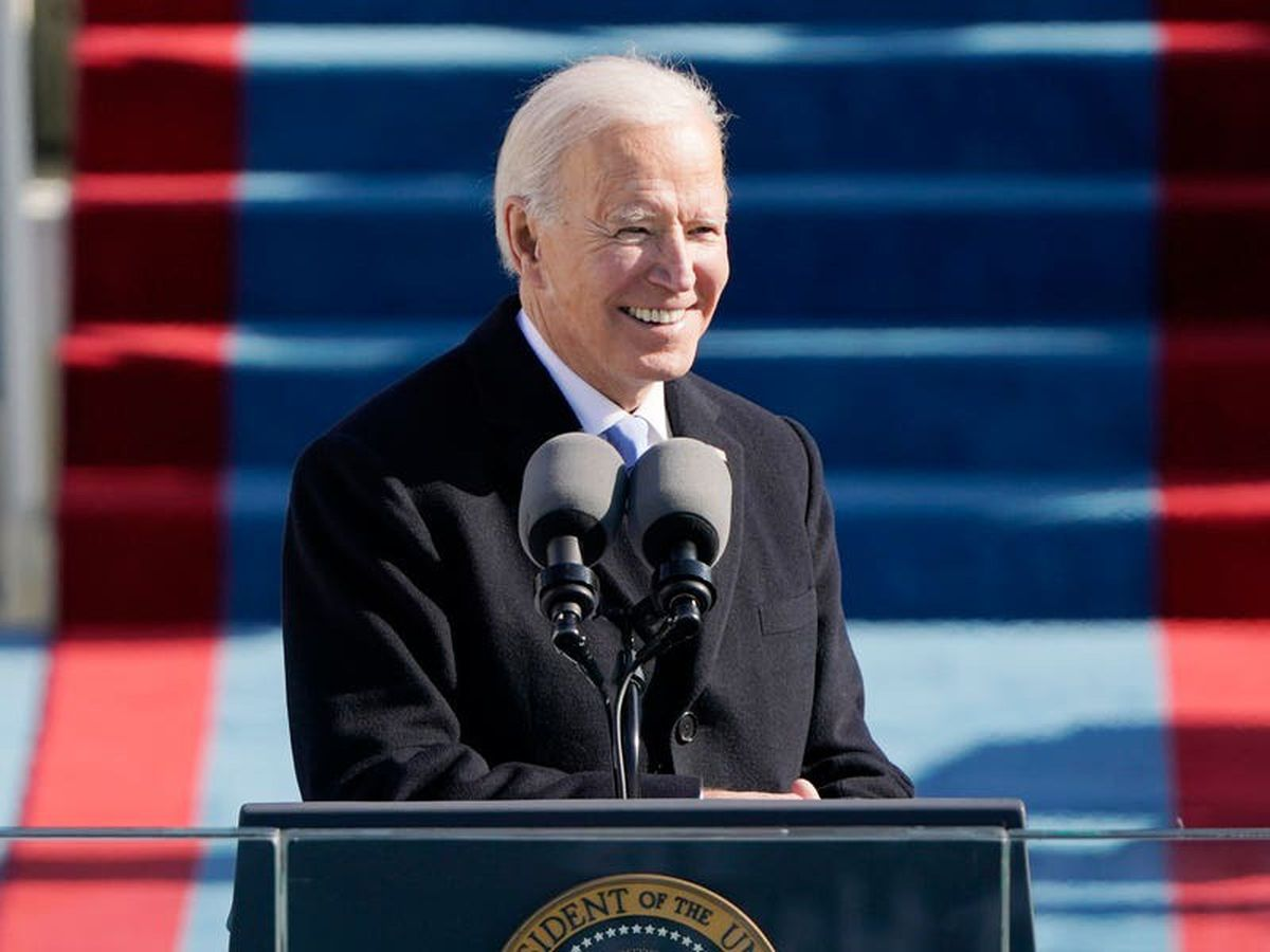 US inauguration live: Joe Biden sworn in as US president