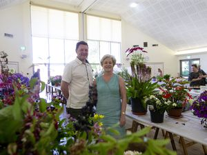 Barry and Juliet Grief were among the visitors to the South Show on Saturday. She said it was important it continued for the community's sake. (Picture by Cassidy Jones, 29874020)