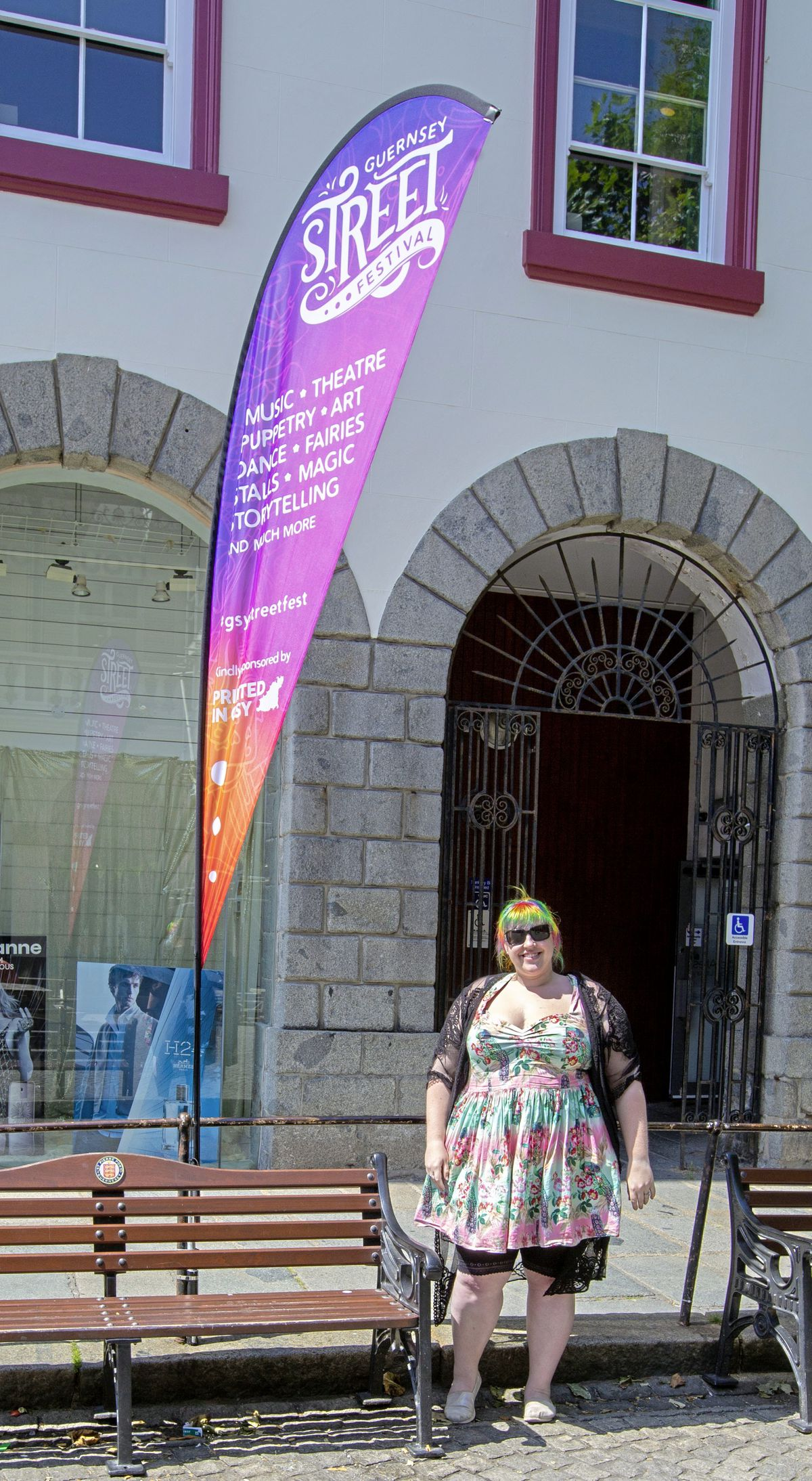 Street Festival creative officer Dominique Ogier. (Picture By Cassidy Jones, 29783391)
