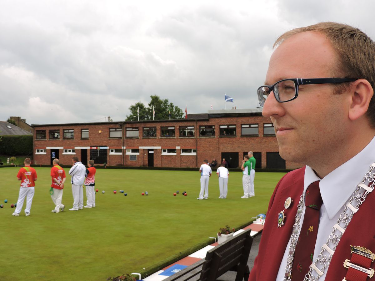 Big player in World Bowls: Garry Collins has his hands full on both the local and overseas scene. (28209029)