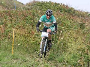 Velo Club president Mark Smith racing in a past Tour of Guernsey which will be delayed a little to allow more planning time. (28362937)