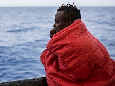 Migrants saved by rescue boat as nations row over where it can dock