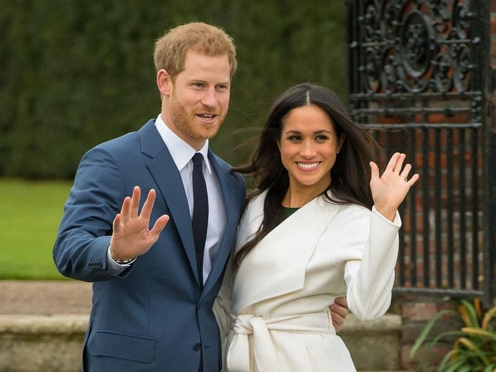 Harry and Meghan deliver food parcels to the Californian poor
