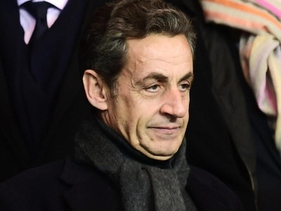 Former French president Sarkozy 'in police custody'