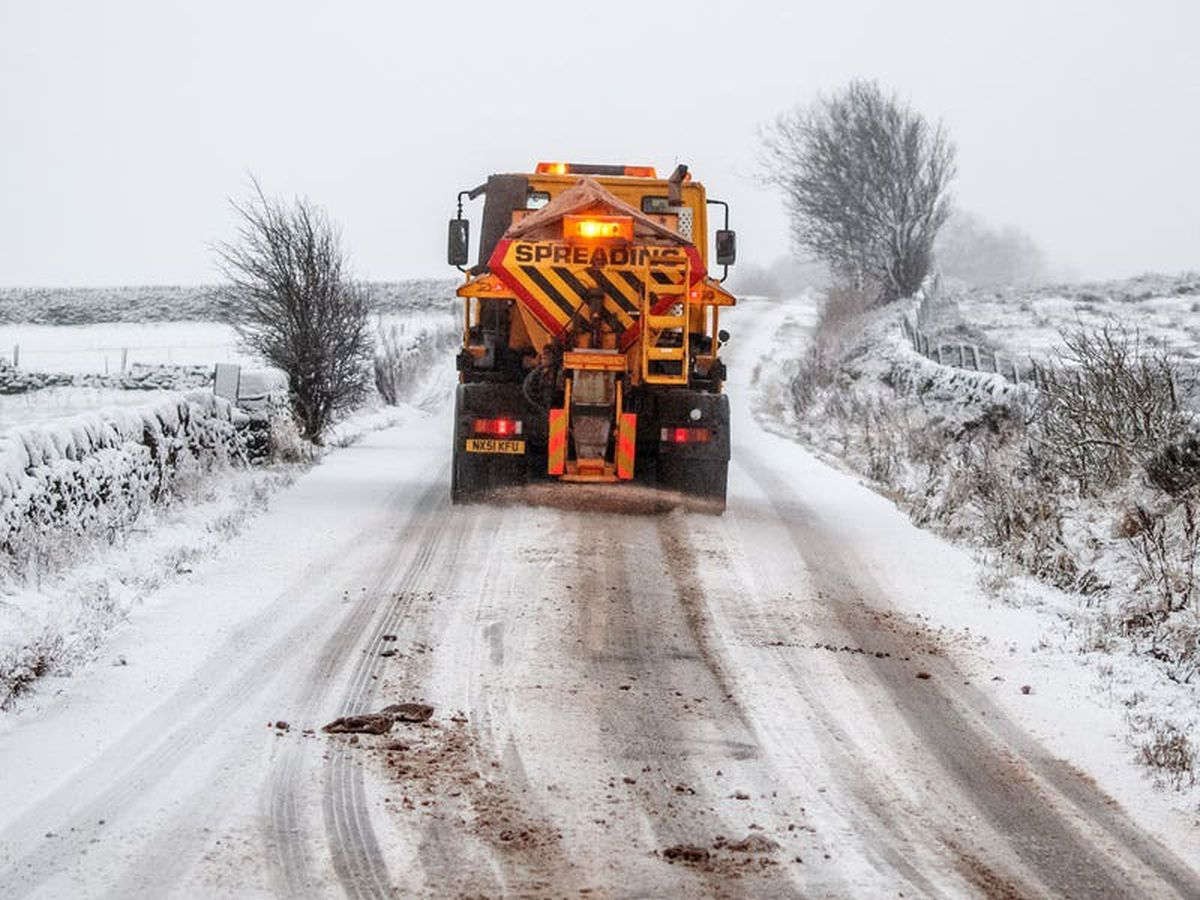 Weather warnings in place as parts of UK set to be hit with heavy snowfall