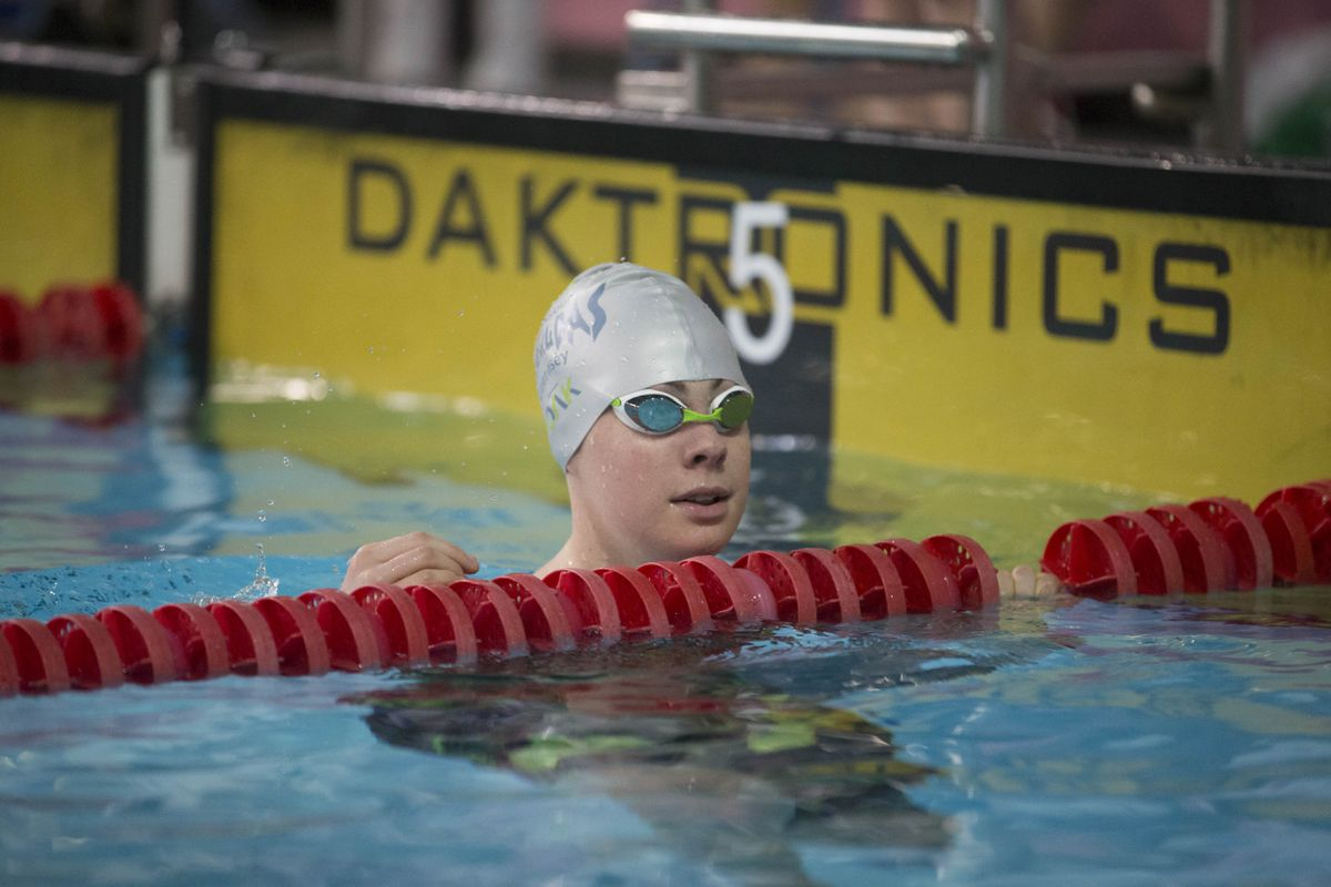 Tatiana Tostevin has broken her own island long-course 200m backstroke record.  (Picture by Peter Frankland, 24254455)