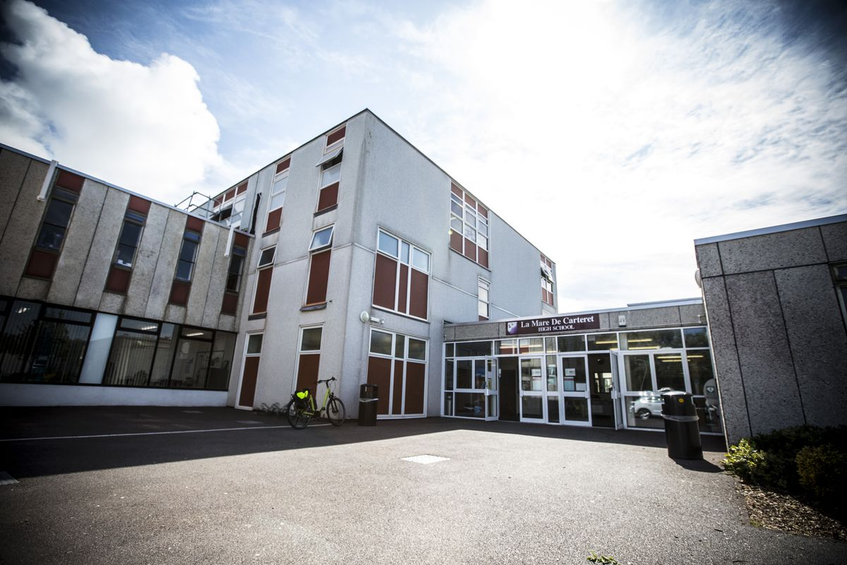 La Mare de Carteret High School. (Picture by Guernsey Press, 29599710)