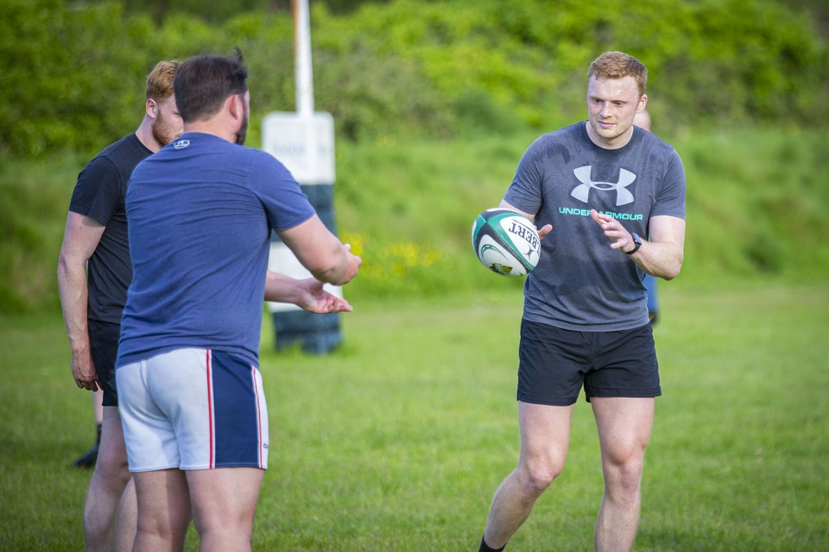 Guernsey Raiders held their first training session at the beginning of June and today play a pre-season match. (Picture by Sophie Rabey, 29873148)