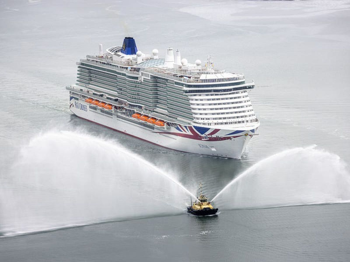 New cruise ship sails into home port
