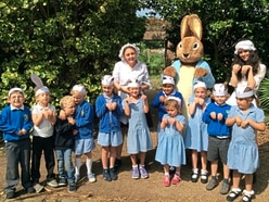 Aurigny charter saves the day for Year 1 pupils