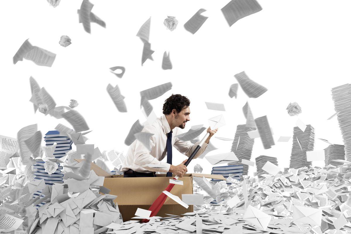Navigating the bureacracy. (Shutterstock picture) (28648988)