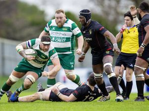 Picture by Sophie Rabey.  11-01-20.  Rugby action at Footes Lane.  Guernsey Raiders vs Rochford Hundred.. (26870731)