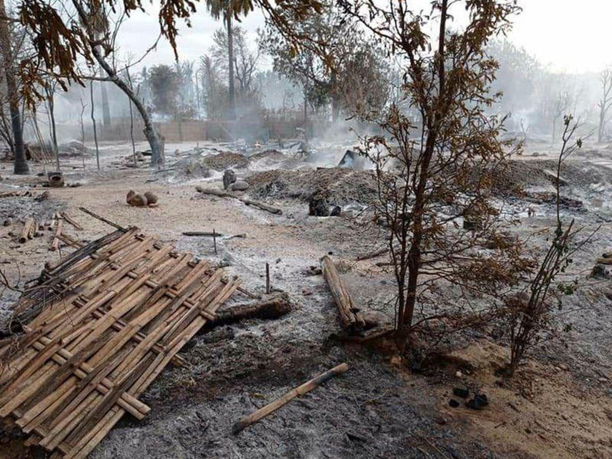 Junta troops burn Myanmar village in escalation of violence