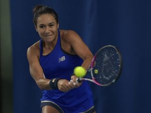 Heather Watson now has the joint second most singles wins for Great Britain in the Fed Cup. (Picture By B&O Press Photo, 27135952)