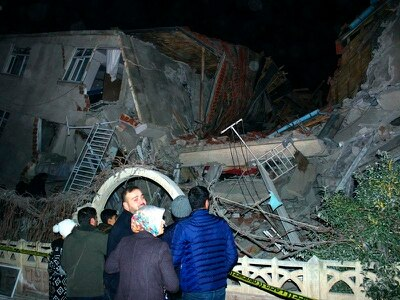 At least 14 dead as earthquake shakes eastern Turkey