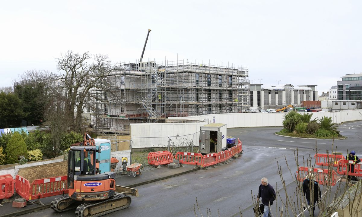 Work on the building of a Premier Inn at Admiral Park will not be held up despite the financial difficulties faced by parent company Whitbread due to the coronavirus pandemic.(Picture by Adrian Miller, 29106440)