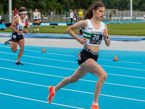 Kate Bain competing at Footes Lane. (www.guernseysportphotography.com)