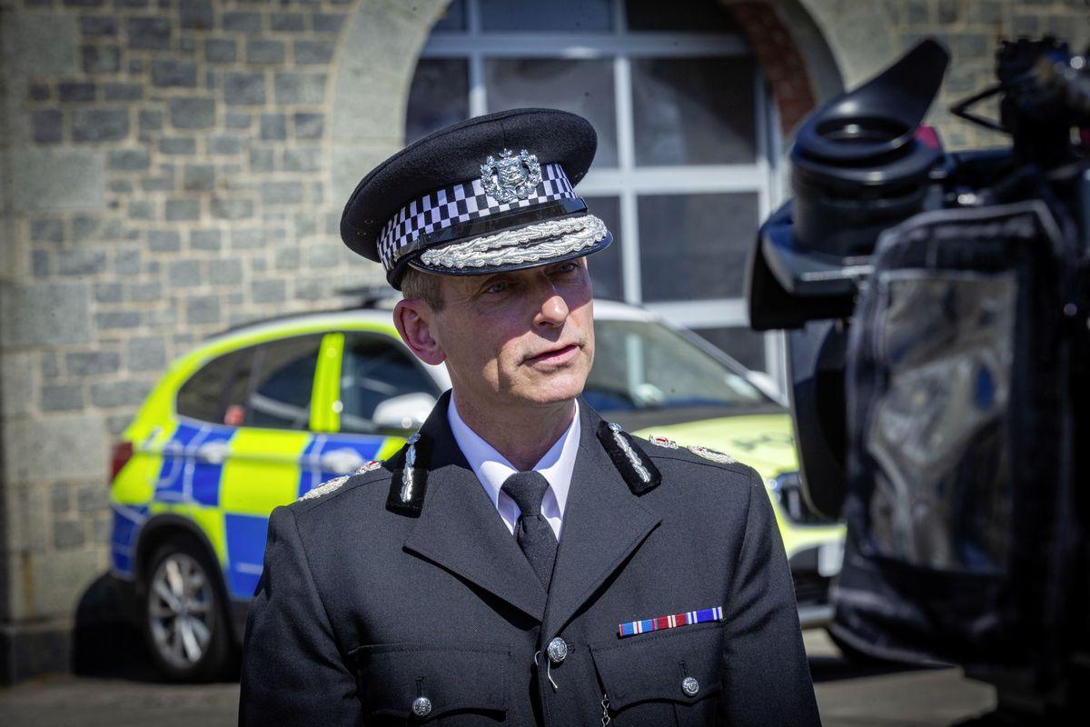 Head of Law Enforcement Ruari Hardy. (29451072)