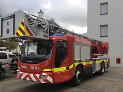 New turntable ladder for the Fire Service