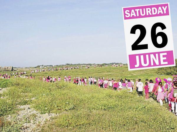 Save the date: The Pink Ladies Sunset Coastal Walk returns on Saturday 26 June.