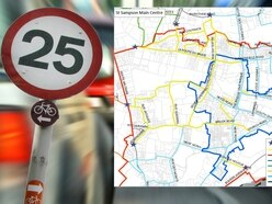 New 25mph speed limit signs already in stock
