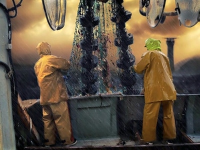 Trawl photo highly commended