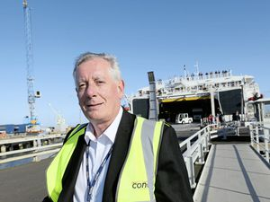 CEO Paul Luxon said Condor constantly monitors the international shipping register for any suitable vessels that could operate in 'the very small and challenging Guernsey and Jersey harbours'.(Picture by Adrian Miller, 25531220)