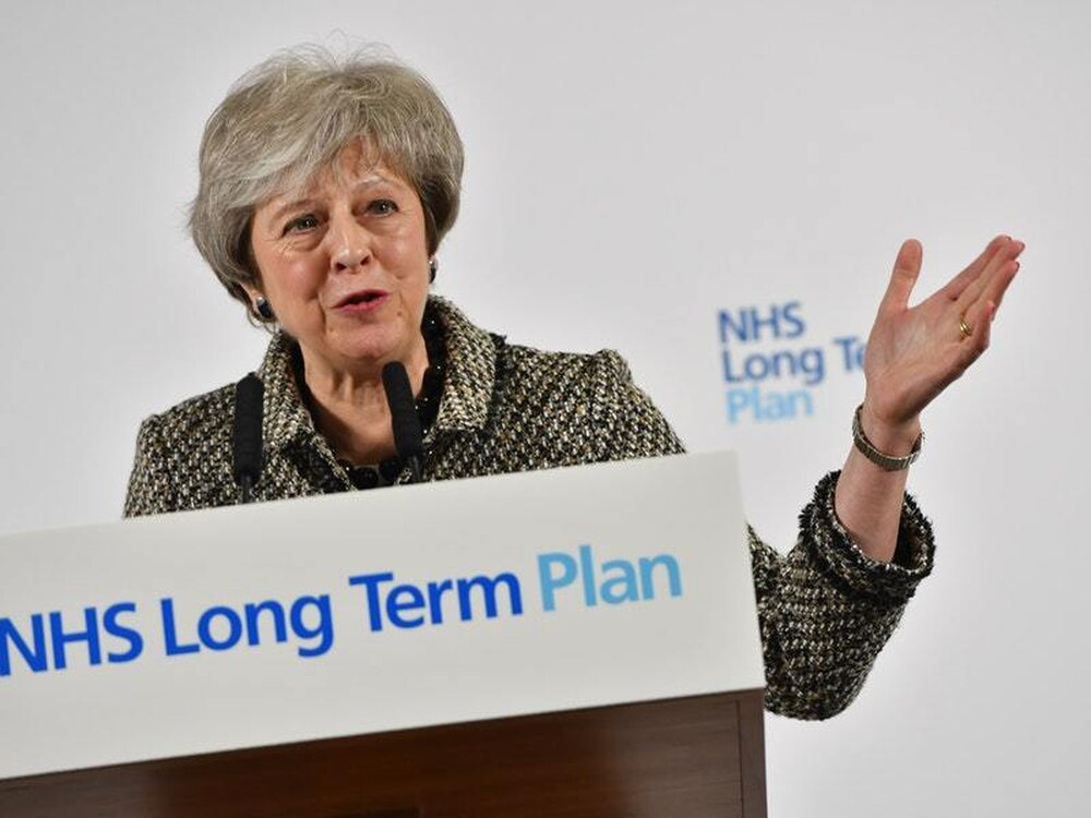 Truly Historic Moment >> May Hails Launch Of Nhs England Plan As Truly Historic Moment