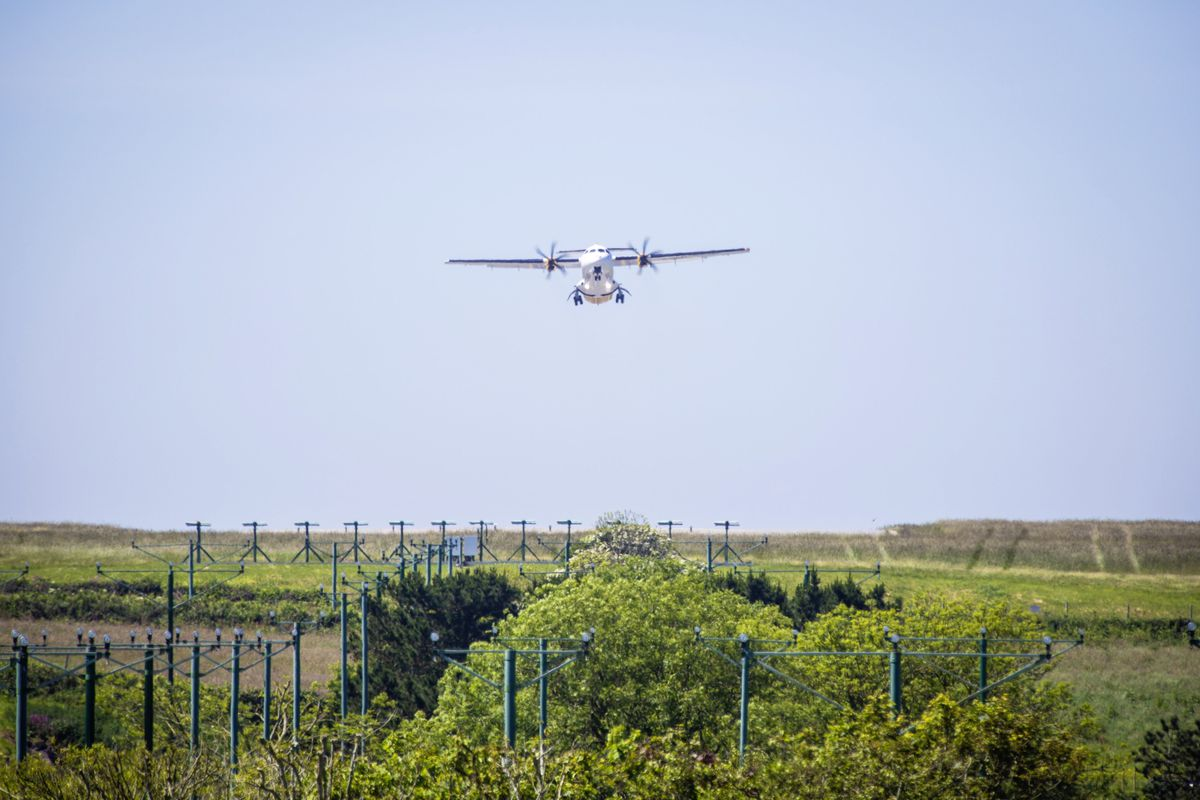 Aurigny ATR 72-600 G-ORAI taking off. (Picture by Sophie Rabey, 28290514)