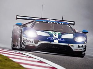 Andy Priaulx racing for Ford Chip Ganassi Racing Team at the Six Hours of Shanghai race in China in the FIA World Endurance Championship, 18-11-18..Picture by Drew Gibson Photography. (23160382)